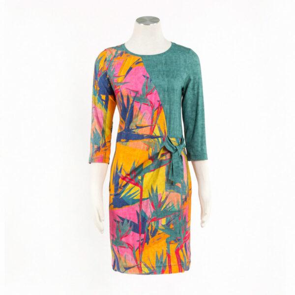 Sukienka Hawaii. Kolory: Olive lub Lazur