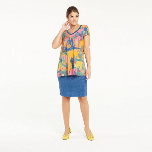 Bluzka Bali: Kolory Jeans lub Lazur