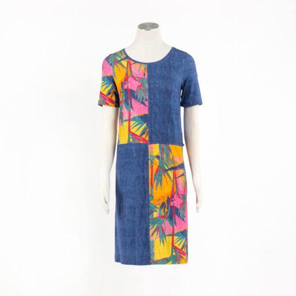Sukienka Caracas: Kolory Jeans, Lazur, Indygo