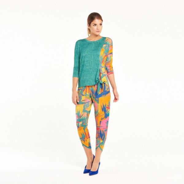 Bluzka Aloha: Kolory: Jeans, Olive, Indygo, Lazur
