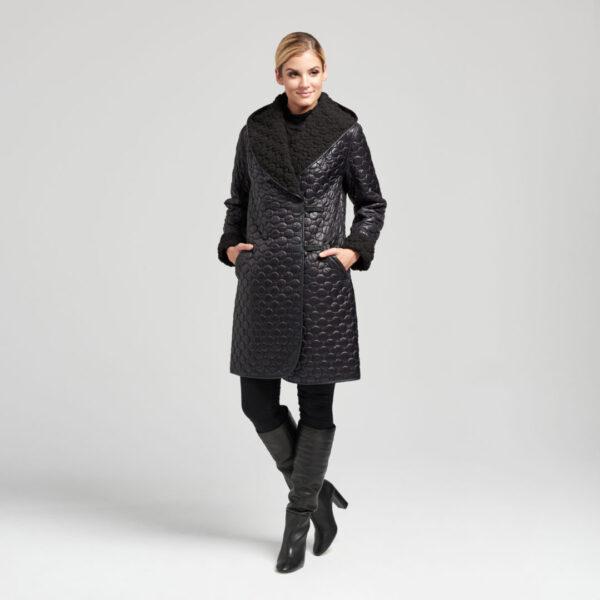 Płaszcz IVALO Black