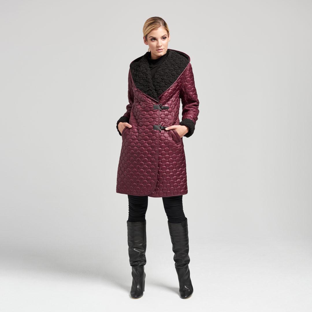 Płaszcz IVALO Claret