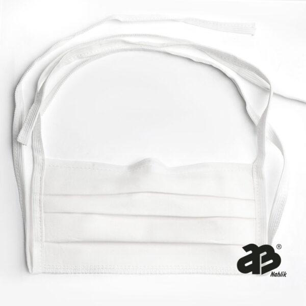 Maseczka dwuwarstwowa higieniczna z drucikiem - BASIC. BAWEŁNA 100% - 200g ( PAKIETY 8/16/20 szt )