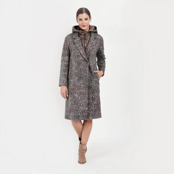 Płaszcz wełniany AB Nahlik. Kolekcja jesień zima