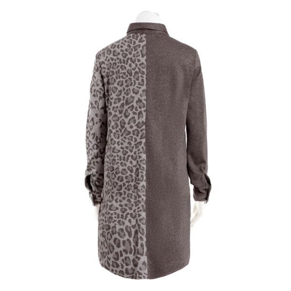 Koszula dzianinowa tunika home wear, home office.Kolekcja jesieńzima AB Nahlik